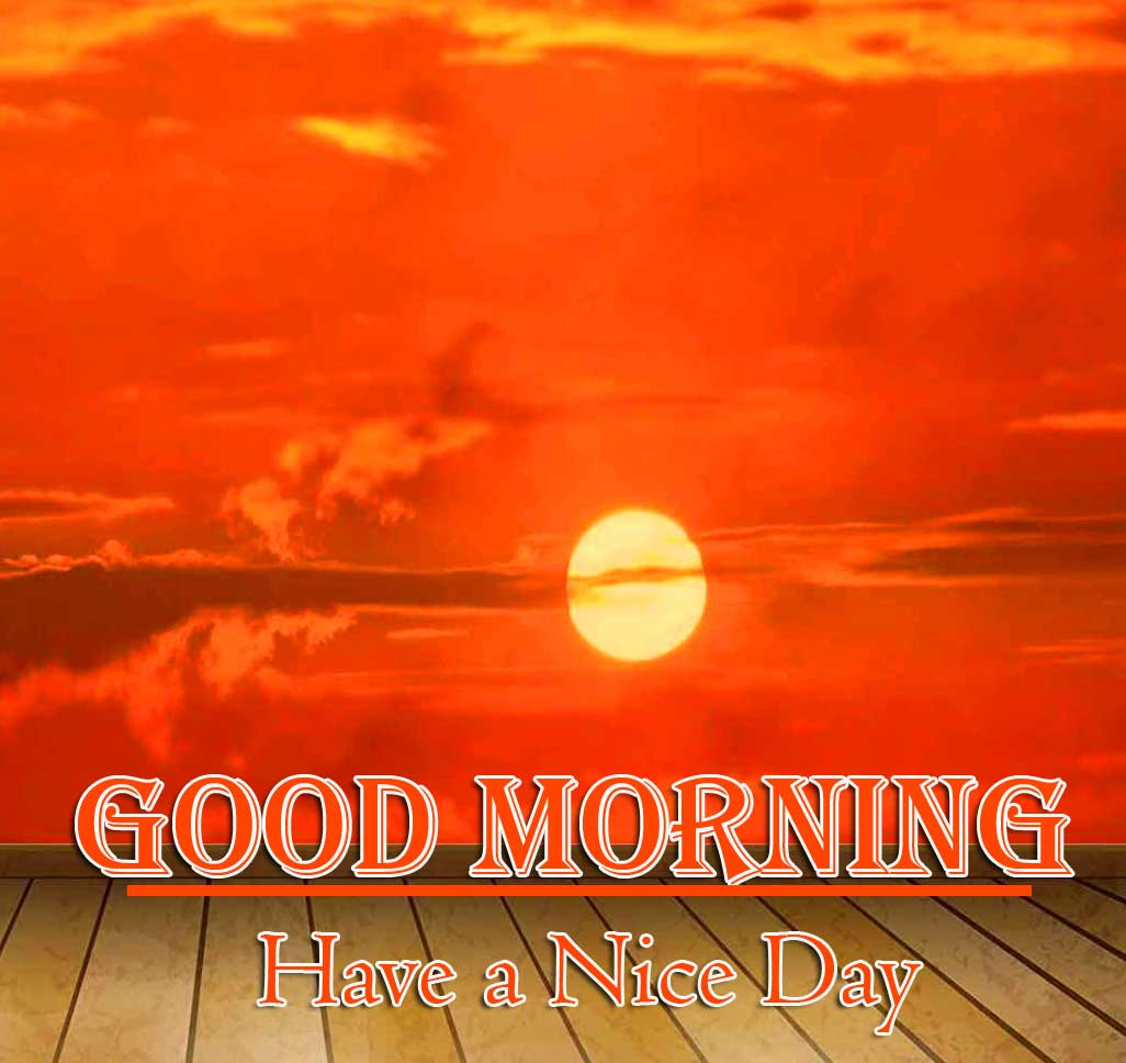 Good Morning Wishes With Sunrise Pics Wallpaper for Whatsapp