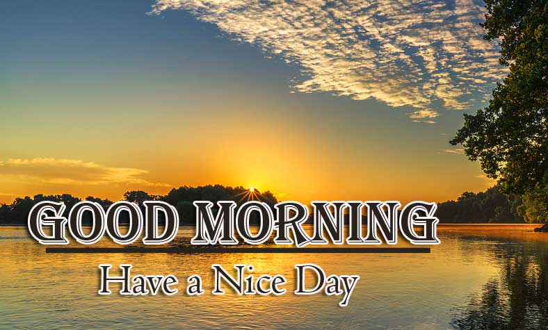 Good Morning Wishes With Sunrise Pics Wallpaper Free Download