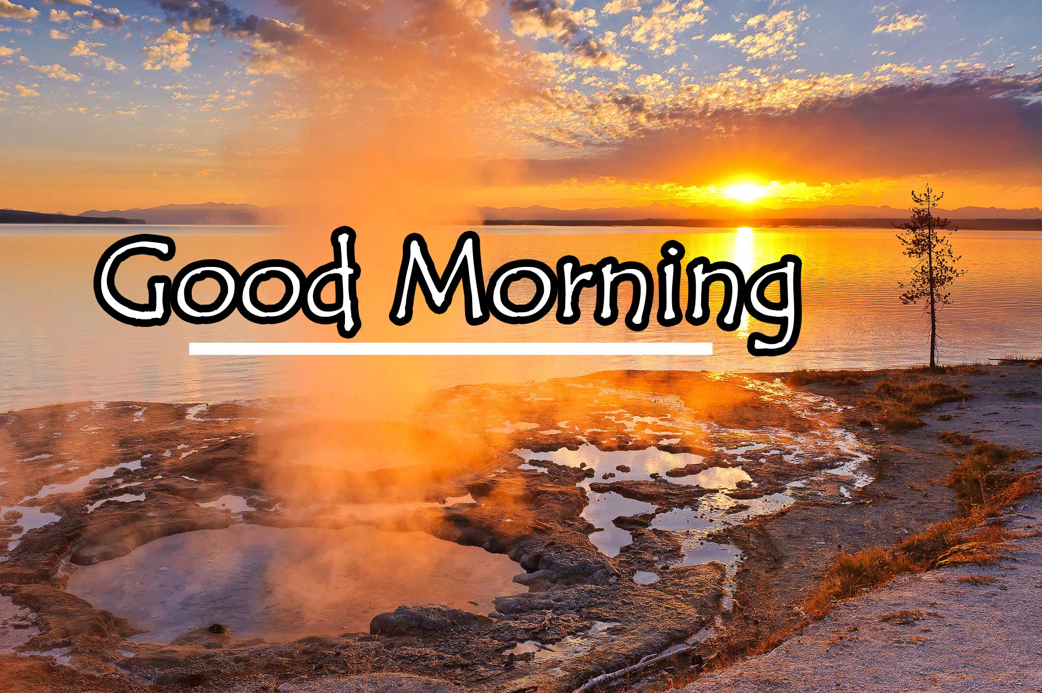Good Morning Wishes With Sunrise Pics Download