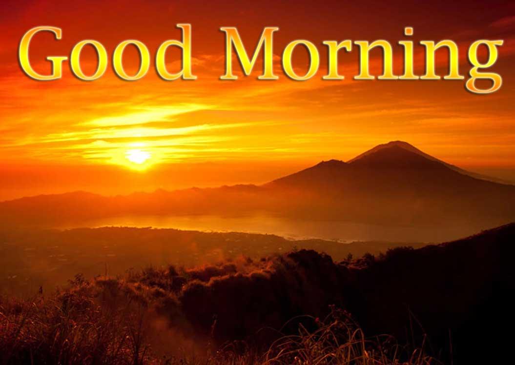 Beautiful Free Good Morning Wishes With Sunrise