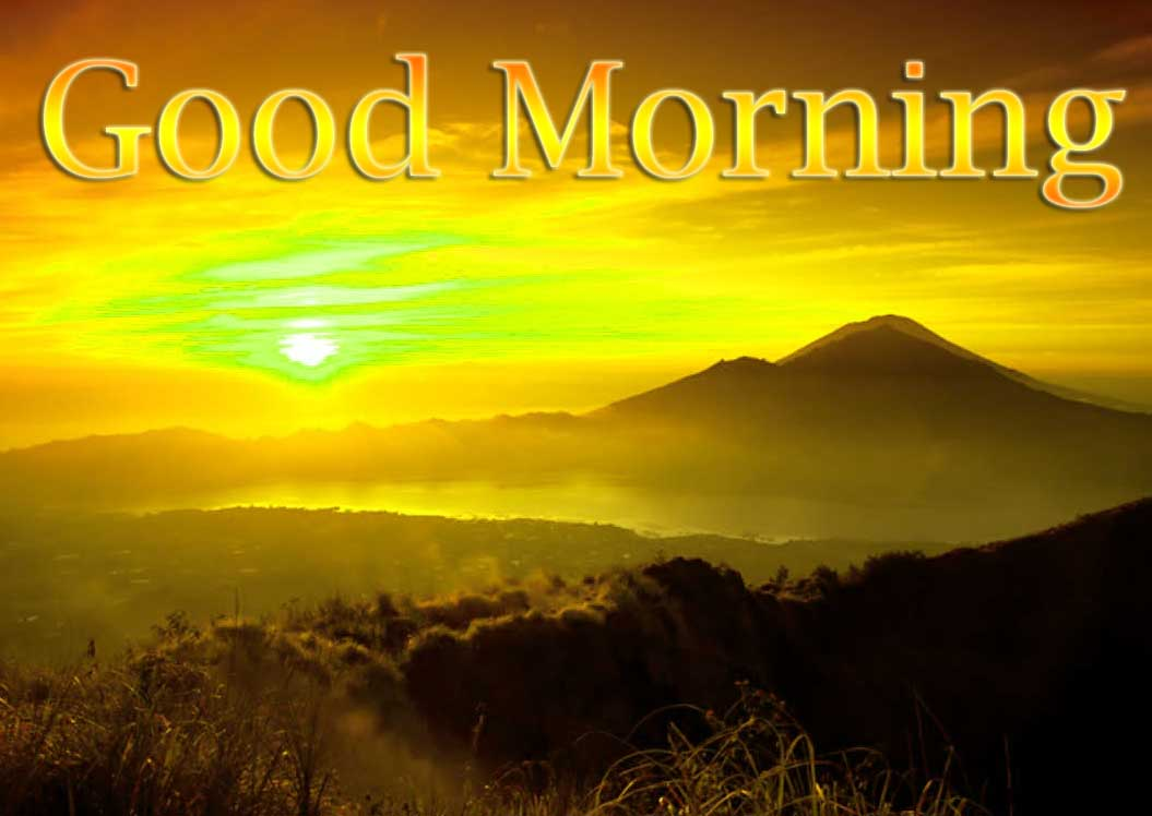 Beautiful Free Good Morning Wishes With Sunrise Wallpaper Pics Free