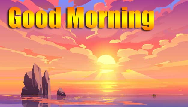 Beautiful Free Good Morning Wishes With Sunrise Wallpaper Latest Download