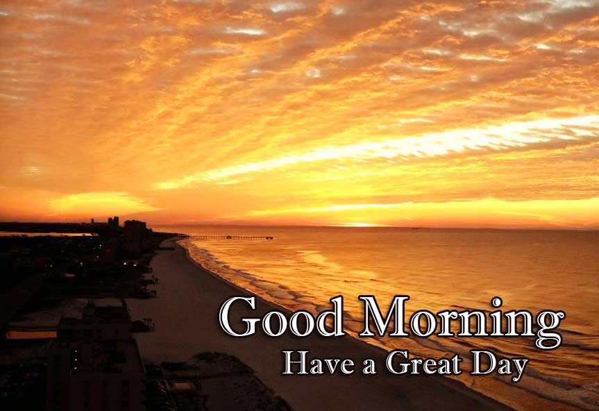 Good Morning Wishes With Sunrise Pics New Download Latest