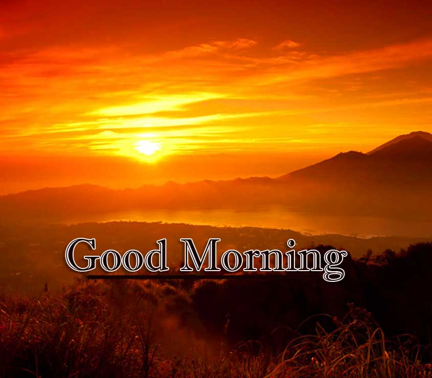 Beautiful Free Good Morning Wishes With Sunrise Pics Download New
