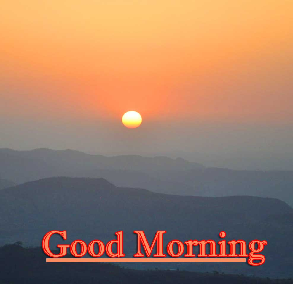 Good Morning Wishes With Sunrise Wallpaper Pics Download