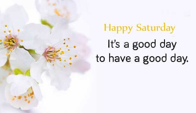 Happy Saturday Good Morning Photo Pics Free Download