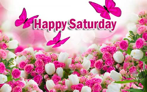 With Flower Happy Saturday Good Morning Images Download
