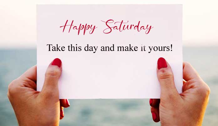 Best Quality Happy Saturday Good Morning Pics Images Download