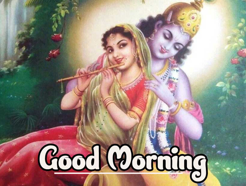 Radha Krishna 2021 Good Morning Images Pics Download