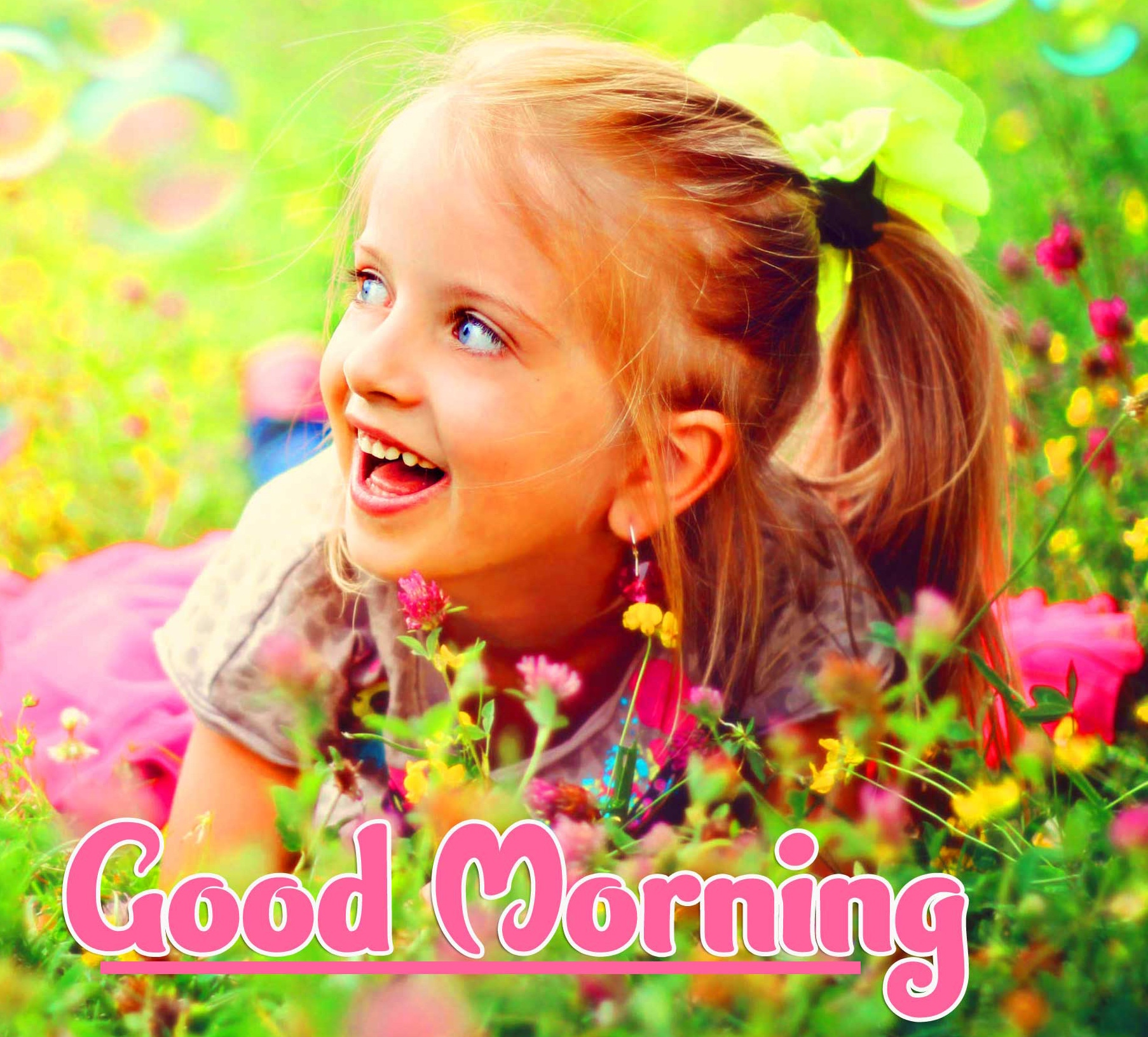Cute Baby 2021 Good Morning Images Pics Download Free