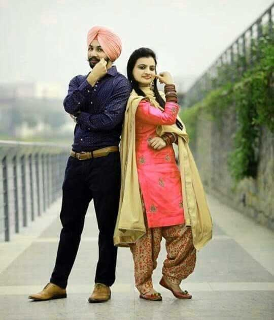 Best Punjabi Couple Images Wallapper