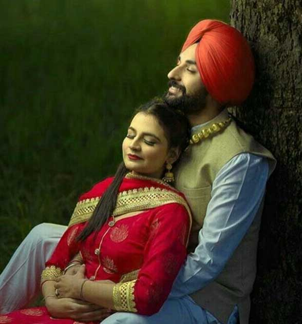 Best Punjabi Couple Photo Free