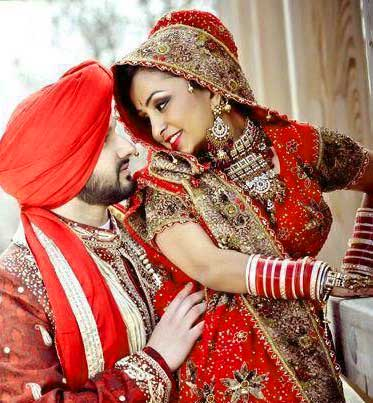 Best Punjabi Couple Photo