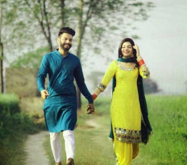 Best Punjabi Couple Wallpaper Download