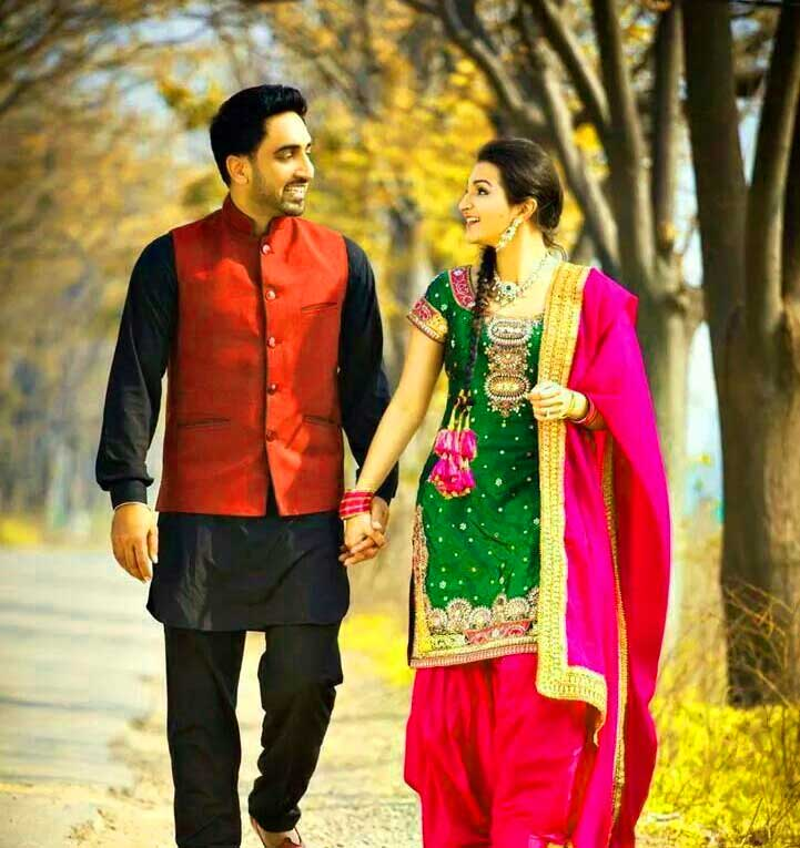 Best Punjabi Couple Wallpaper Images