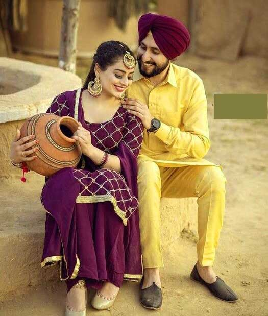 Best Punjabi Couple pictures Images