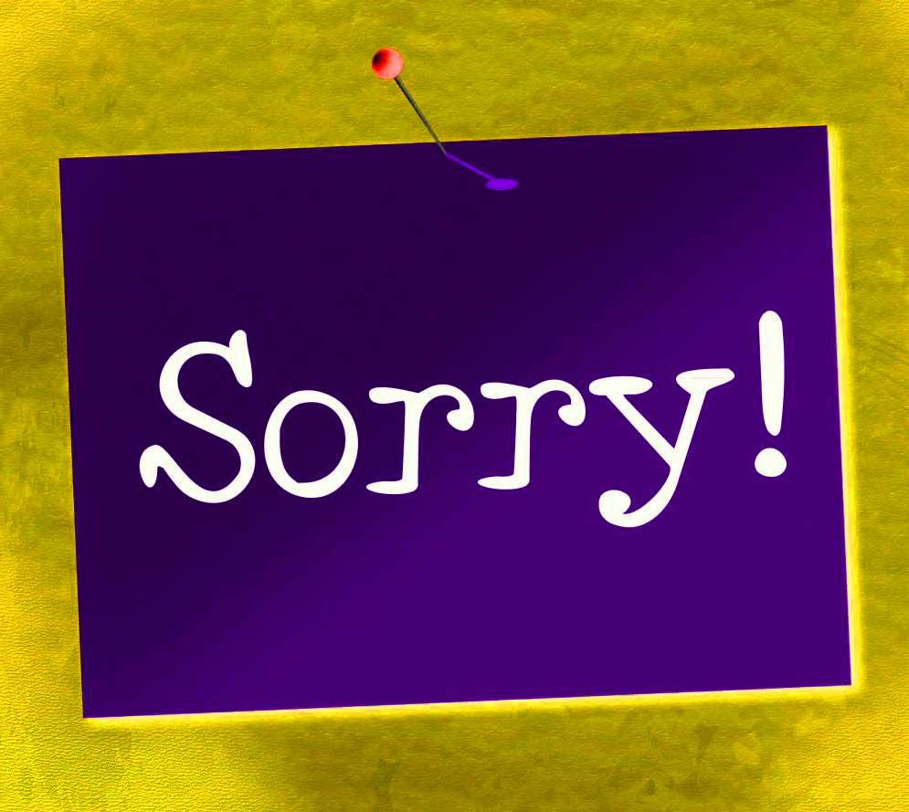 Best Sorry Whatsapp Dp Download pics