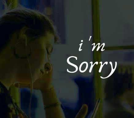 Best Sorry Whatsapp Dp Free hd