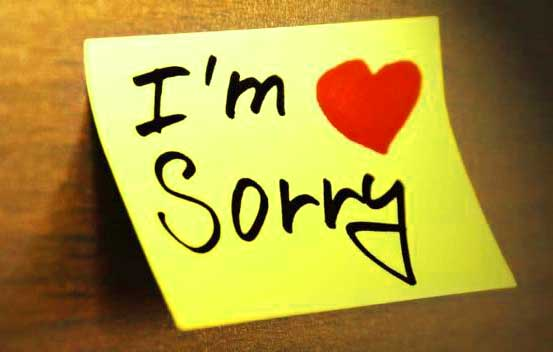 Best Sorry Whatsapp Dp Images Free