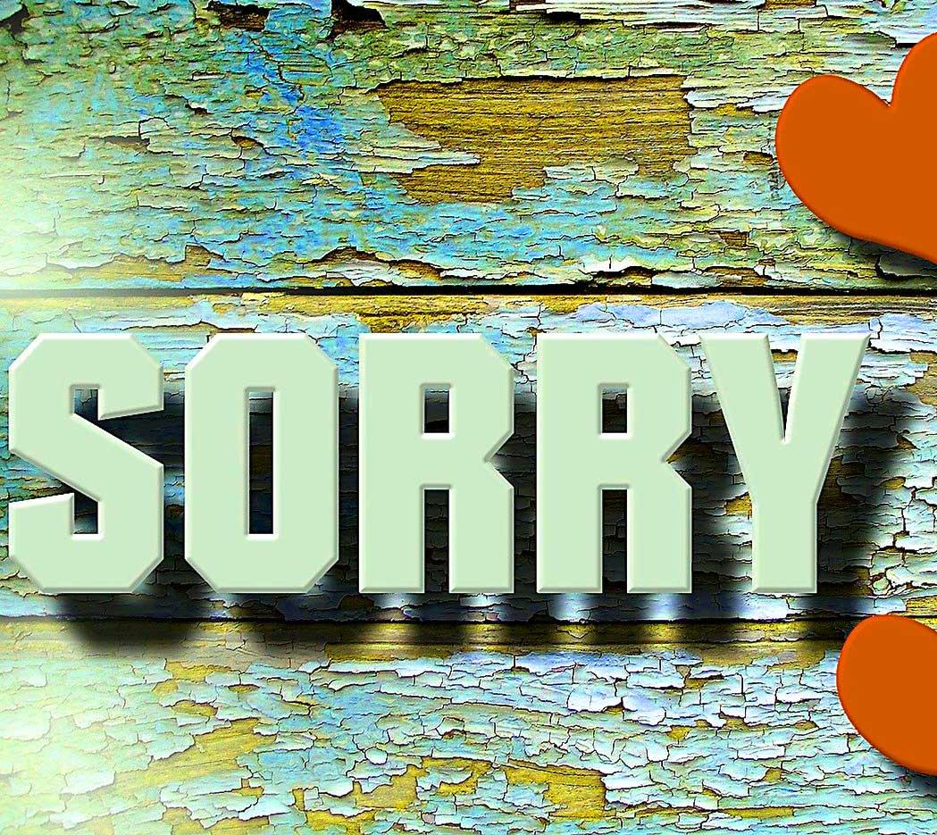 Best Sorry Whatsapp Dp Photo Free