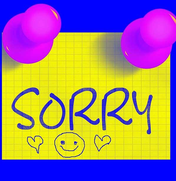 Best Sorry Whatsapp Dp Pics Free