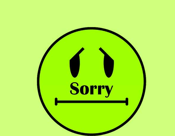 Best Sorry Whatsapp Dp Pics Wallpaper