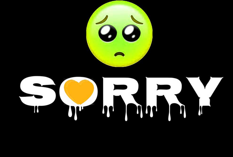 Best Sorry Whatsapp Dp Pics