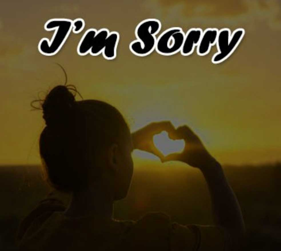 Best Sorry Whatsapp Dp Wallpaper pics
