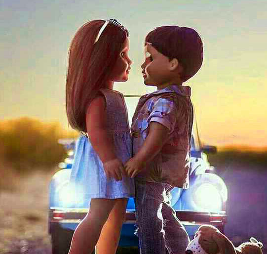 Cute Love Whatsapp Dp Wallpaper Photo
