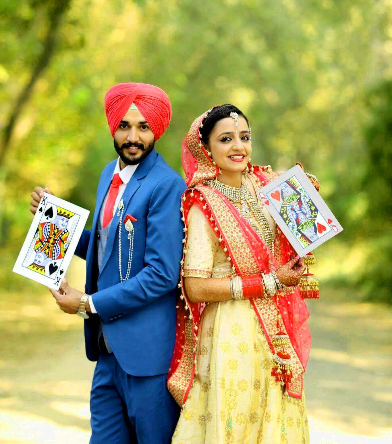 Cute Punjabi Couple Download Images