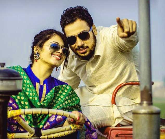 Cute Punjabi Couple Free Wallpaper Pics