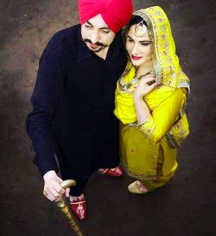 Cute Punjabi Couple Images Photo