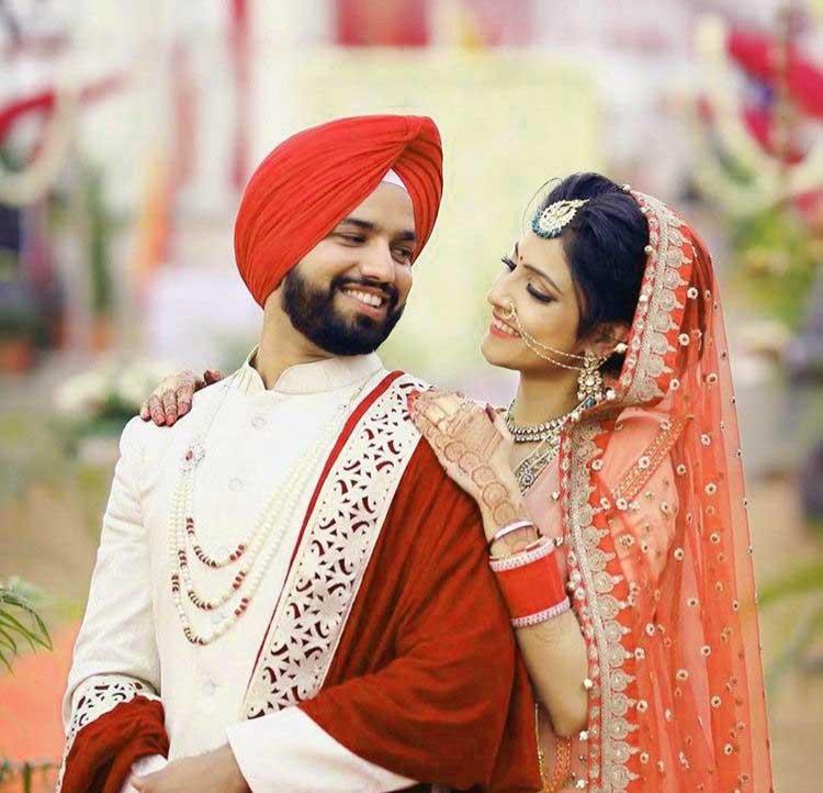 Cute Punjabi Couple Images pics