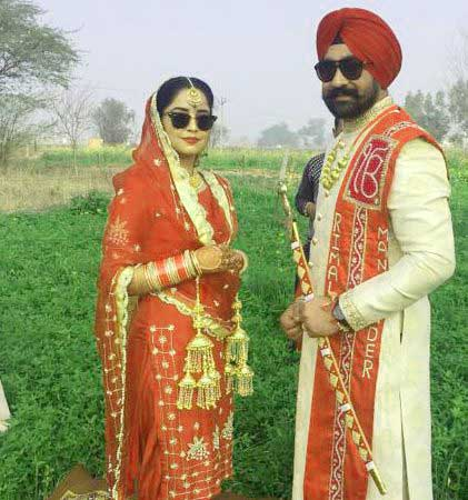 Cute Punjabi Couple Photo Free
