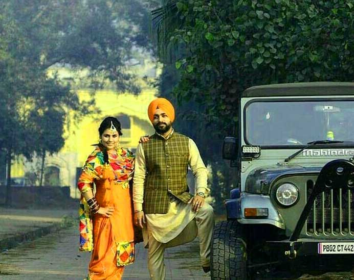 Cute Punjabi Couple Pics Free Download