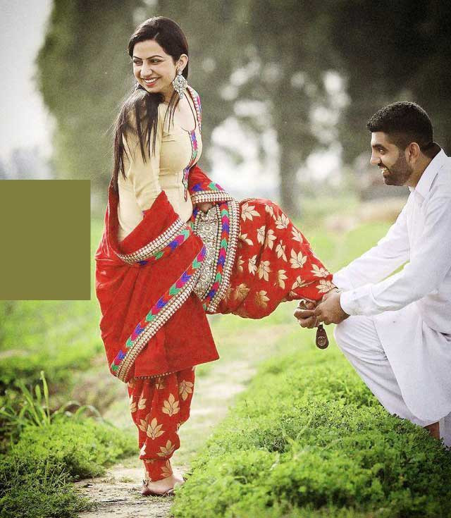Cute Punjabi Couple Wallpaper Pics Free