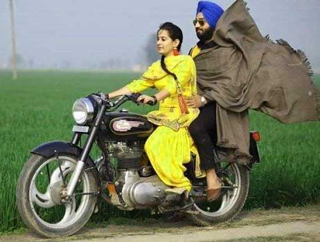 Cute Punjabi Couple Wallpaper Pics
