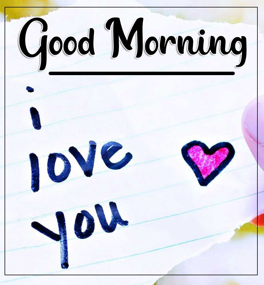 Free Latest Good Morning Images With I Love You