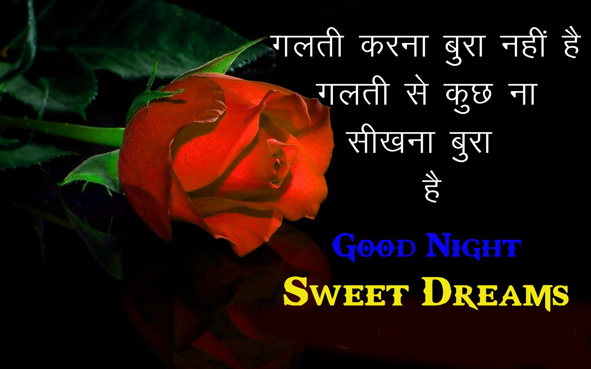 Free Rose Good Night Pics Images Download