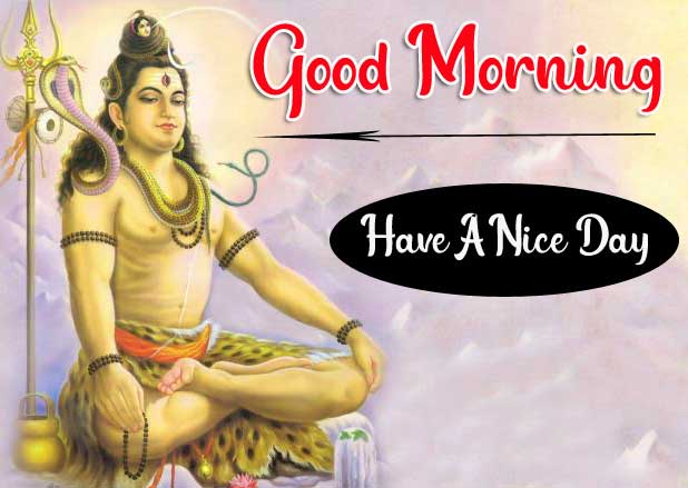 Full HD Lord Shiva Good Morning Images Download