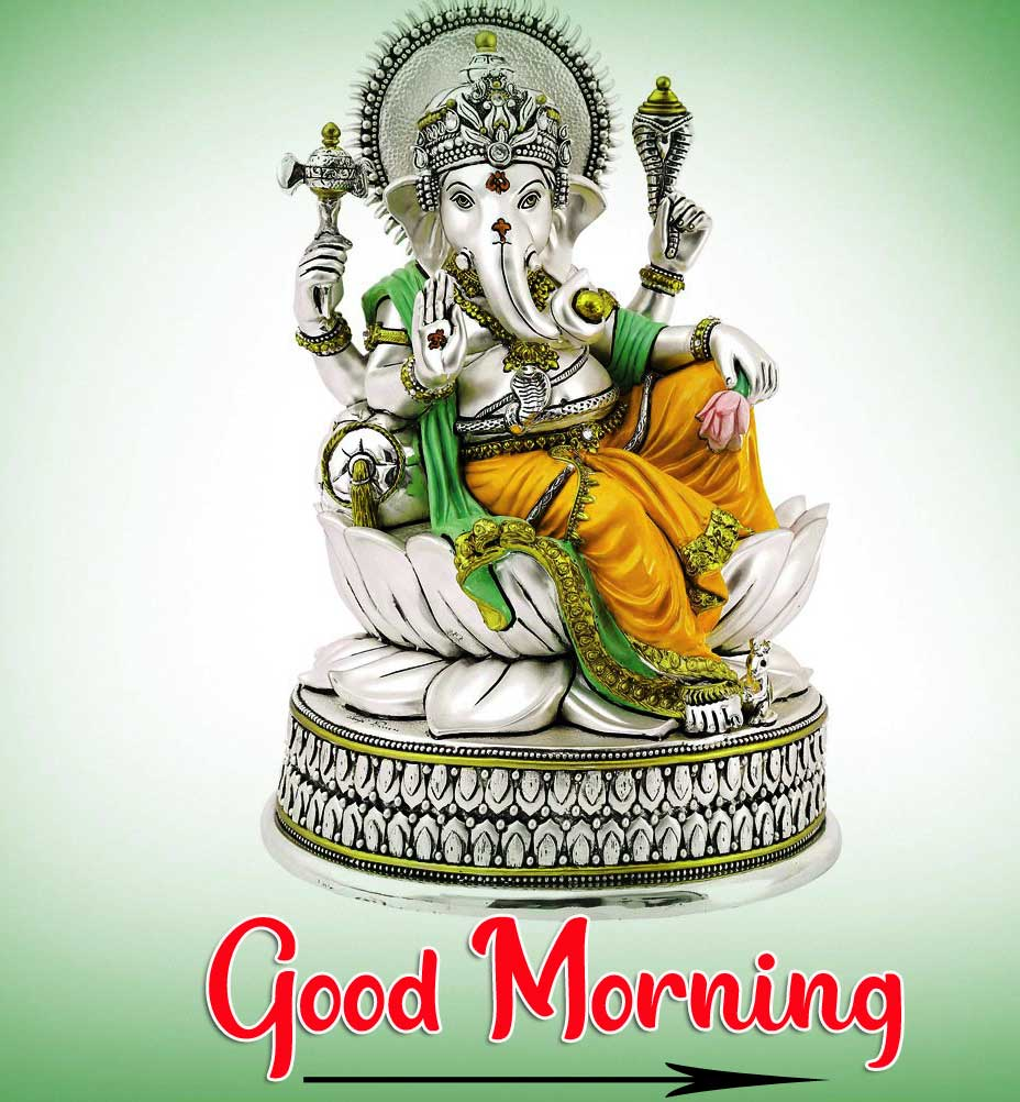 God Ganesha Good Mornig Pics Download