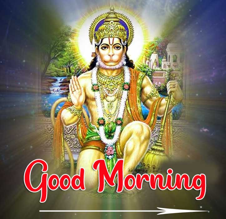 Hanuman Ji Good Morning Wishes