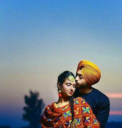 Punjabi Couple Free Photo