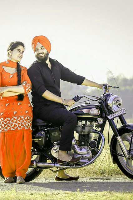 Punjabi Couple Free Wallpaper
