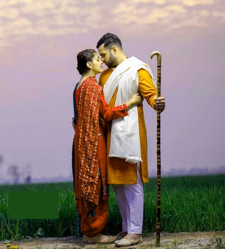 Punjabi Couple Images Free Photo