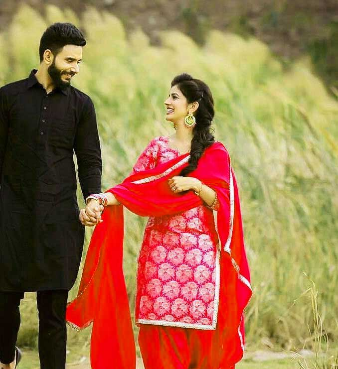Punjabi Couple Images Wallapper