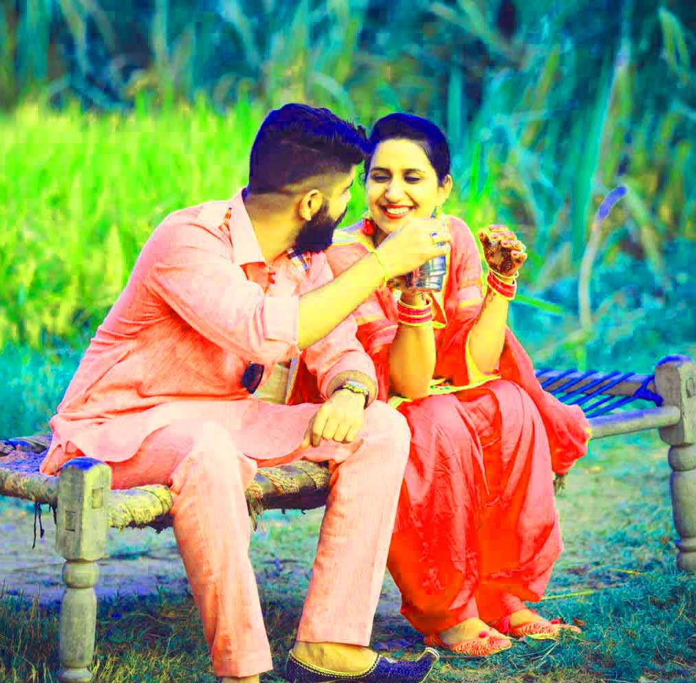 Punjabi Couple Photo Images