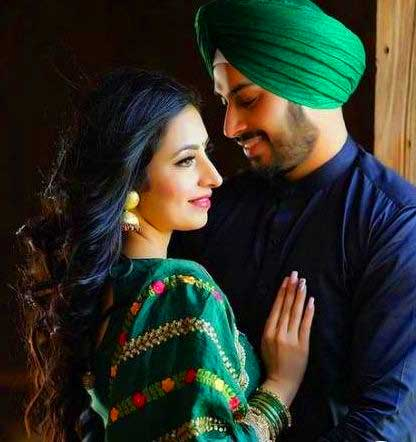 Punjabi Couple Photo