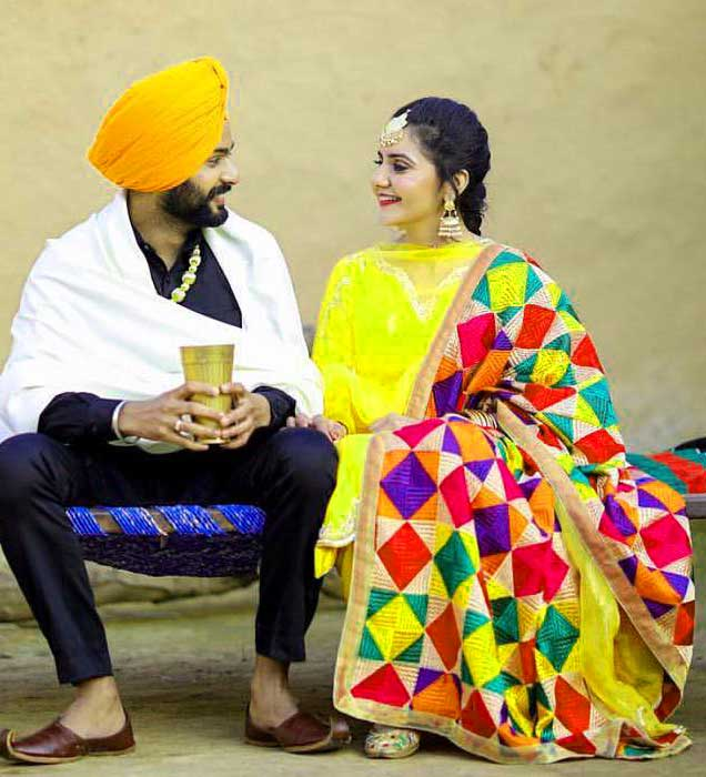 Punjabi Couple Pictures