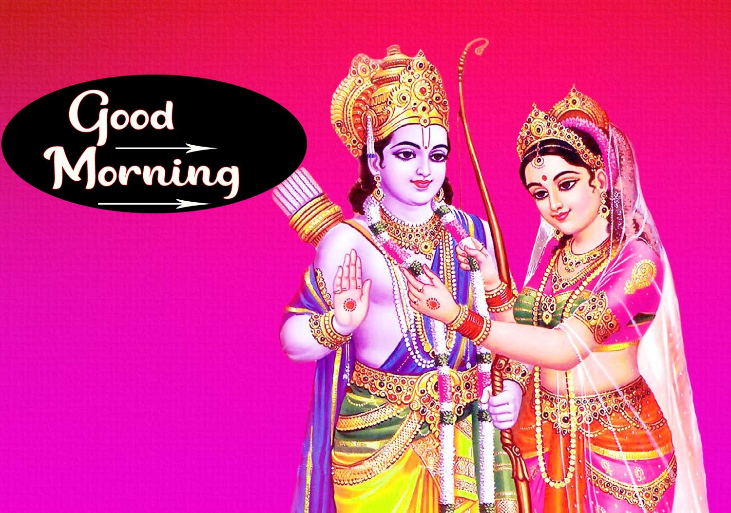 Radha Krishna HD Good Morning Images Download